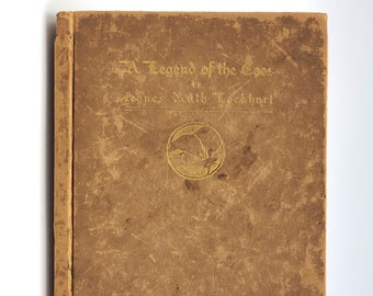 Antique Poetry: A Legend of the Coos Indians 1909 by Agnes Ruth Lockhart Sengstackan - Oregon Author