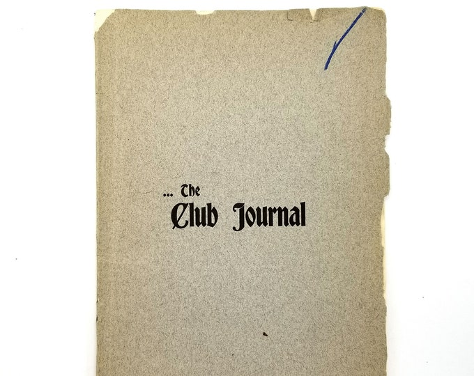 The Club Journal (January 1903, Vol. 2, no. 8) Pacific Northwest - Oregon -  Washington - Women's Clubs - Abigail Scott Duniway