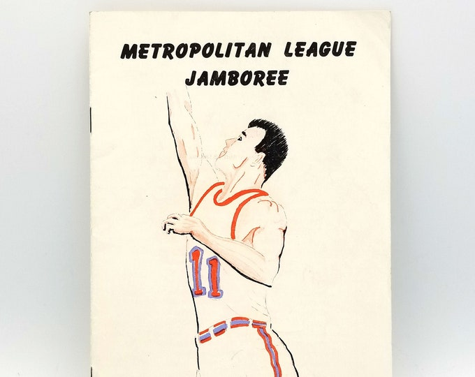 Program Portland high school basketball 1956-1957 Metropolitan League Jamboree Team Photos Oregon