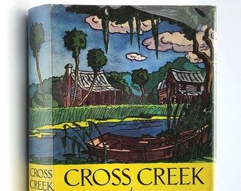 Cross Creek 1st Edition in Dust Jacket 1942 by Marjorie Kinnan Rawlings Alachua County, Florida