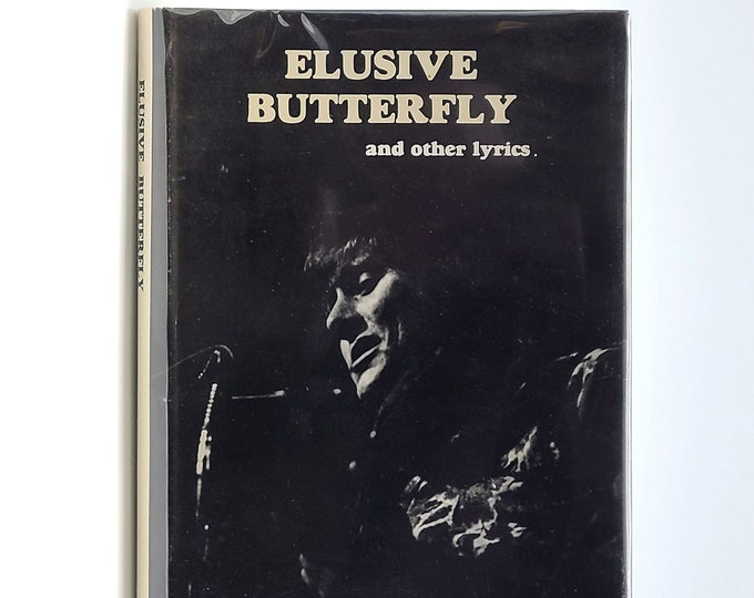 Elusive Butterfly and Other Lyrics 1st Limited Edition in Dust Jacket 1971 by Bob Lind - Poetry - Folk Music