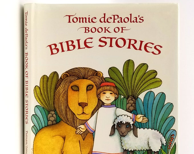 Tomie dePaola's (de Paola) Book of Bible Stories SIGNED 1st Edition in Dust Jacket 1990
