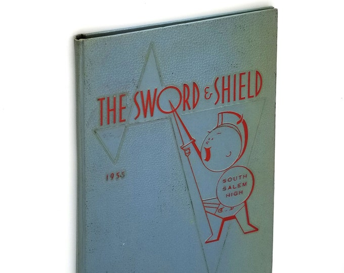 South Salem High School [Oregon] Yearbook 1955 The Sword & Shield Marion County