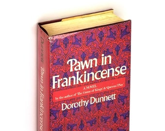 Pawn in Frankincense SIGNED 1st Edition Hardcover in Dust Jacket 1969 Dorothy Dunnet - Lymond Chronicles - Historical Fiction