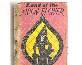 Land of the Moonflower 1955 by GERALD SPARROW ~ Siam Memoir Thailand Travel Bangkok