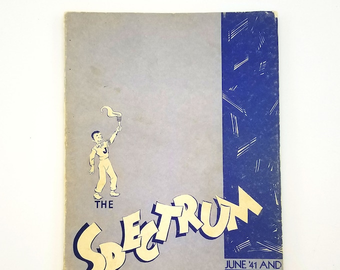 Jefferson High School Yearbook The Spectrum June '41 and Jan '42 (1941 and 1942) Portland, Oregon, Multnomah County