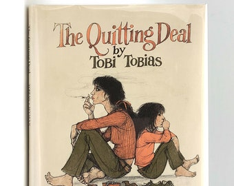 The Quitting Deal SIGNED in Dust Jacket 1975 by Tobi Tobias illustrated by Trina Schart Hyman