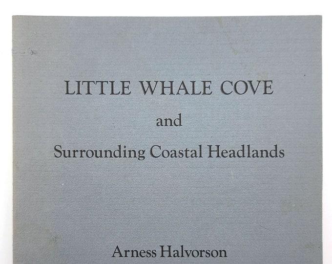 Little Whale Cove & Surrounding Coastal Headlands 1979 by Arness Halvorson Oregon Coast History Depoe Bay, Siletz Indians, Lincoln County