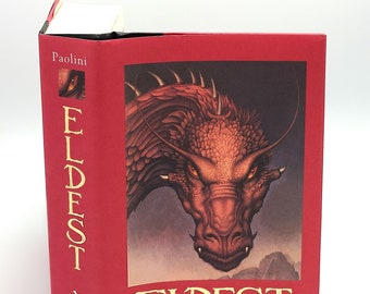 Eldest CHRISTOPHER PAOLINI 1st SIGNED in Dust Jacket 2005 Inheritance Cycle Book 2