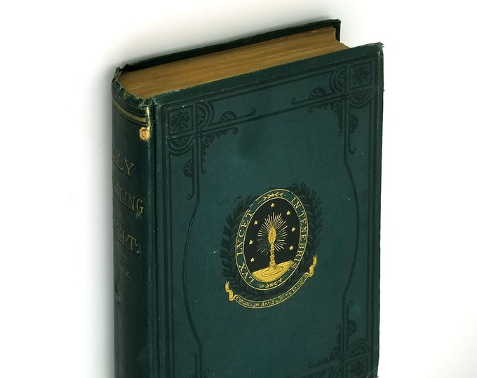 Antique History: Italy Struggling into Light Hardcover 1880 by H.H Fairall - Politics - History - Church