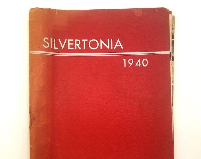 Silverton High School [Oregon] Yearbook 1940 Silvertonia Marion County