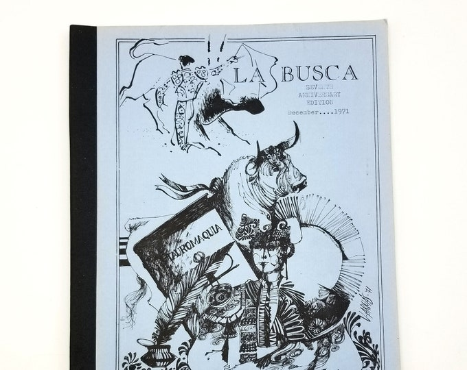 La Busca, Vol. VII, no. 12 (December 1971) Taurine Bibliophiles of America - Bullfighting