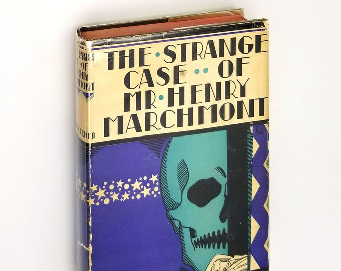 Vintage Mystery: The Strange Case of Mr. Henry Marchmont [The Bedford Row Mystery] 1927 by J.S. Fletcher