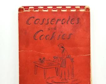 Casseroles & Cookies 1955 Mount Tabor Rose Garden Club Portland Oregon Cookbook