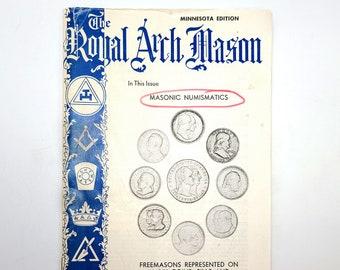 The Royal Arch Mason, Vol. XII, No. 2, Summer 1976 1976 Masonic Numismatics Freemasonry Coins Medals Money