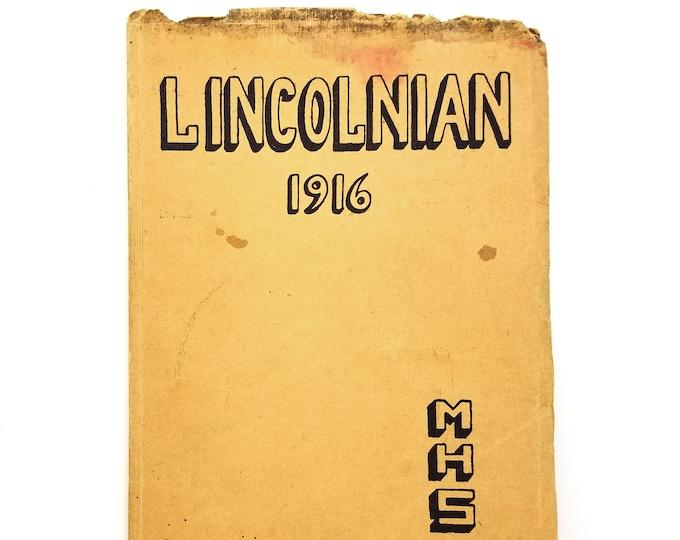McMinnville High School [Oregon] Yearbook 1916 Lincolnian - Yamhill County - Alan Hart - Inez Stark - Transgender - Lesbian