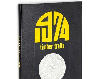Toutle Lake High School 1974 Yearbook Timber Trails ~ Cowlitz County ~ Genealogy ~ Year Book