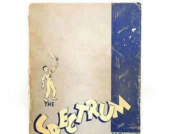 Jefferson High School Yearbook The Spectrum June 1941 & Jan 1942 Portland, Multnomah County, Oregon