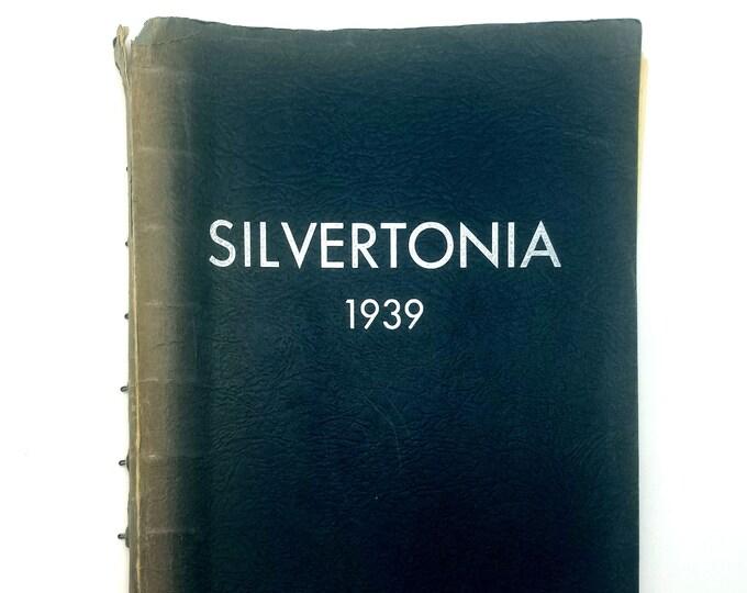 Silverton High School [Oregon] Yearbook 1939 Silvertonia Marion County