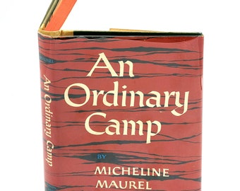 An Ordinary Camp 1st Edition in Dust Jacket 1958 by Micheline Maurel - Neubrandenburg - Ravensbrook - concentration camp - World War II