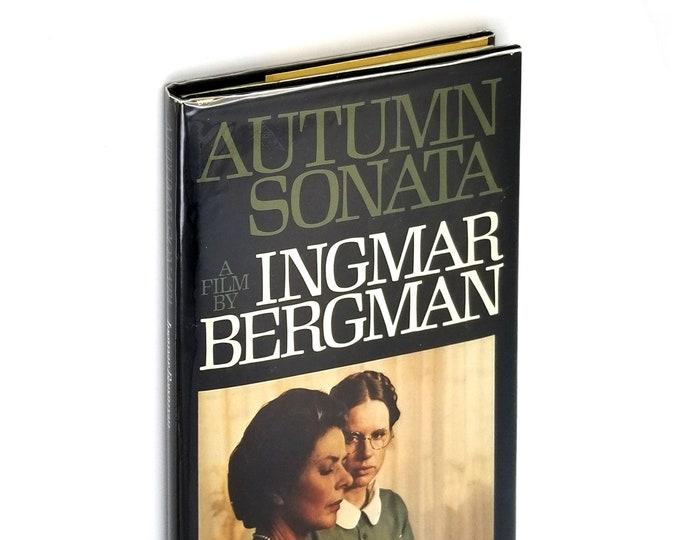 Autumn Sonata: A Film by Ingmar Bergman Hardcover in Dust Jacket 1978 Swedish Film Cinema Screenplay
