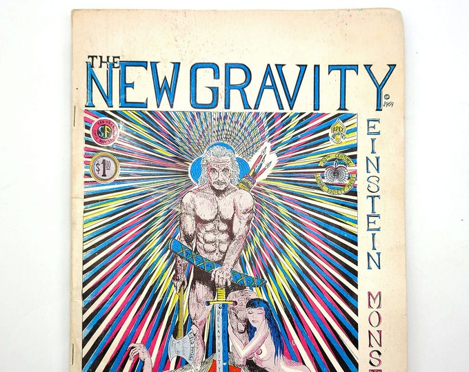 The New Gravity: Einstein Monster #2 1970 Fringe Science - San Francisco - Gary Arlington