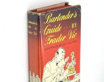 Bartender's Guide 1948 TRADER VIC Cocktails Recipes Vintage
