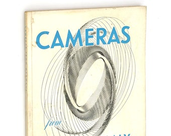 Cameras from Germany 1951 Vintage West German Manufacturers Catalog Reference