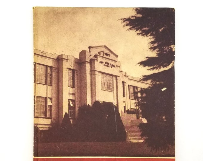 Milwaukie High School Yearbook 1953 Maroon Oregon Clackamas County