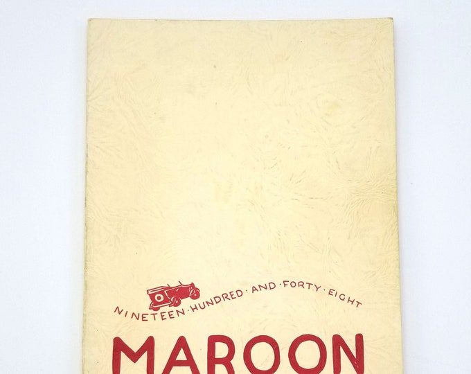 Milwaukie High School [Oregon] Yearbook 1948 Maroon Clackamas County