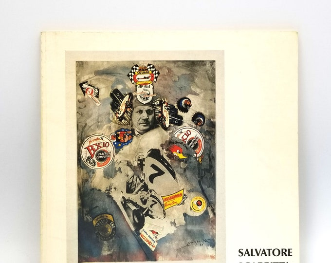 Salvatore Scarpitta Exhibit Catalog Contemporary Arts Museum Houston 1977 Avant Garde,Neo Futurist Painter Sculptor Racing