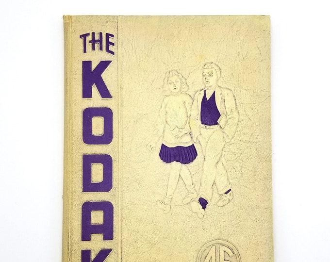 Eau Claire High School [Wisconsin] Yearbook 1945 Kodak Chippewa County