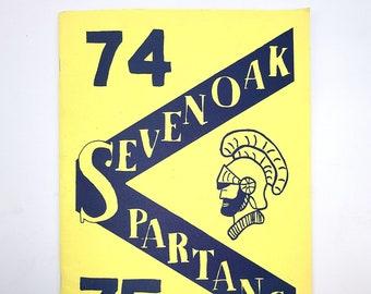 Seven Oak Middle School [Lebanon, Oregon] 1975 Yearbook Spartan Linn County