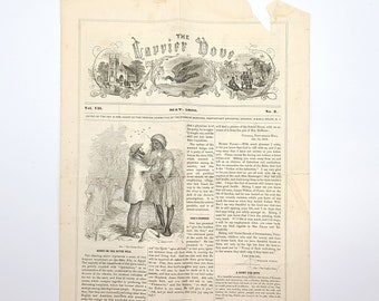 The Carrier Dove - May 1860 (Vol. VII, No. 9) Christian Missionary - West Africa - Cavalla Mission - Liberia - Episcopal