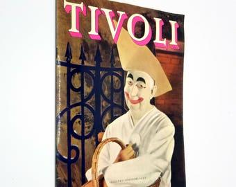 Bogen om Tivoli (Gardens / Park) by Mogens Knudsen & Heini Egli 1957 Copenhagen, Denmark Travel Tourism Danish Language