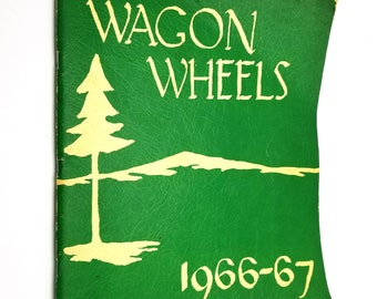 Western View Junior High School Yearbook (Annual) - Wagon Wheels 1966-67 Corvallis, OR Benton County
