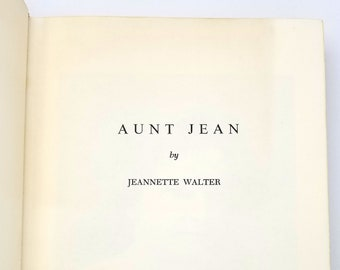 Aunt Jean - autobiography Jeannette Walter - Walter Family, Kingman, Wichita, Kansas, Ewha Mission School Korea