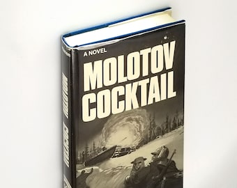 Molotov Cocktail: Russo-Finnish Winter War SIGNED Hardcover in Dust Jacket 1979 by John Virtanen Historical Fiction Finland Russia WWII