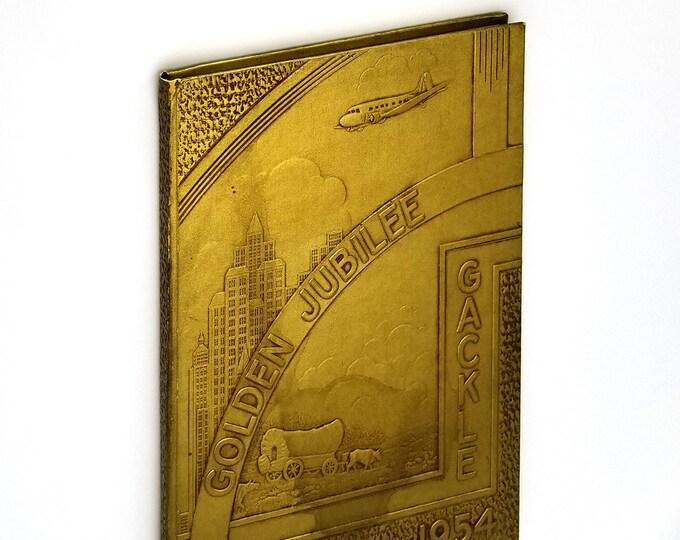 Gackle Golden Jubilee 1904-1954 North Dakota Local History - Logan County - Genealogy