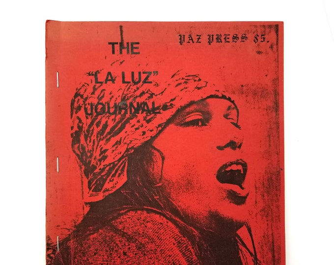 "Feminist Writing: The ""La Luz"" Journal 1980 by Juana Maria Paz - Lesbian Separatist - Herstory Archives - womyn's land - OWL Farm"