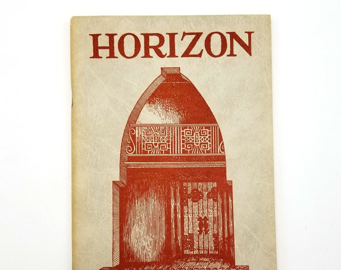 Horizon: The Journal of the Philosophical Research Society Winter 1946 Vol. 6, No. 3 by Manly Palmer Hall