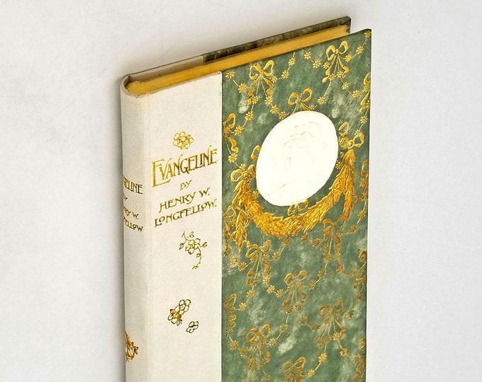 Evangeline by Henry W. Longfellow circa 1901 Victorian Publishers Binding
