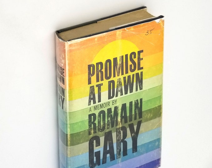 Promise at Dawn by Romain Gary Hardcover in Dust Jacket 1961 Autobiography French World War II North Africa
