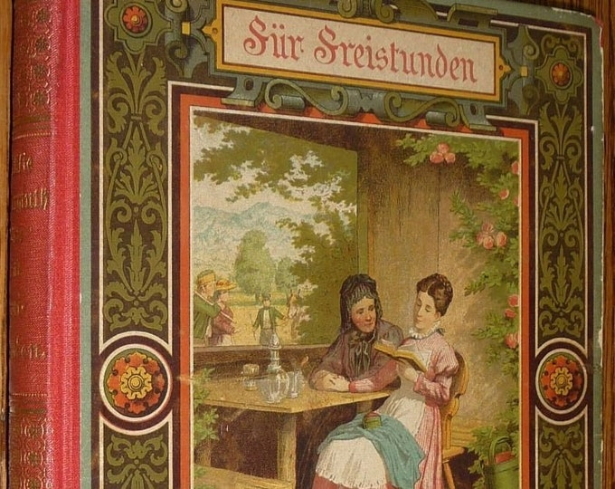 Fur Freistunden: Erzahlungen fur die Jugend by Ottilie Wildermuth Hardcover HC ca. 1888 Children's German Language