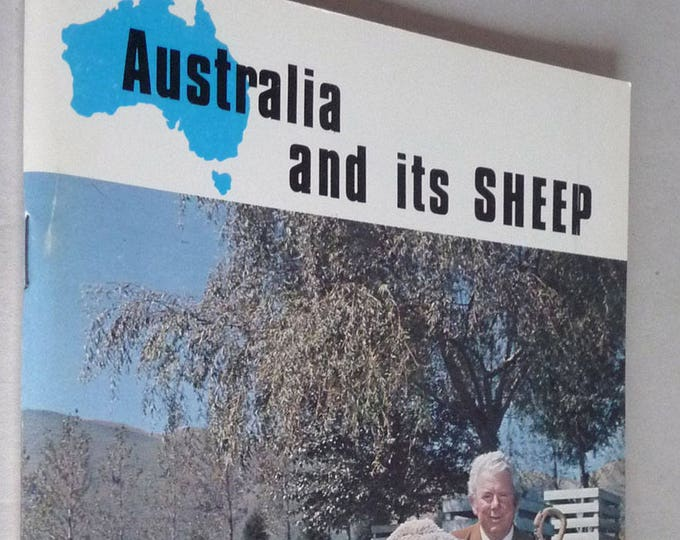 Australia and its Sheep by Godfrey Bowen Ca 1978 Argodome - Farm Shepherd Animal Husbandry