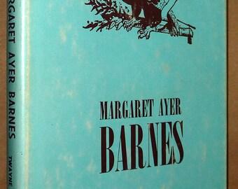 Margaret Ayer Barnes by Lloyd C Taylor Jr. Hardcover HC w/ Dust Jacket DJ 1974 Biography Writer Playwright
