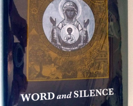 Word and Silence: Hans Urs von Balthasar and Spiritual Encounter Between East & West 1995 Gawronski 1st Edition Hardcover w/ DJ Dust Jacket