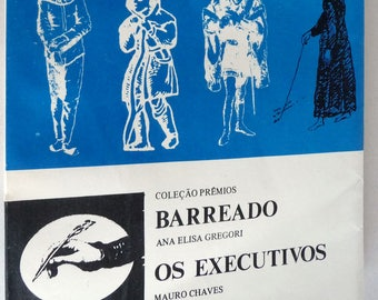Barreado; Os Executivos (Coleção Prêmios Vol. 5) by Ana Elisa Gregori & Mauro Chaves - Portuguese Language Plays - 1977