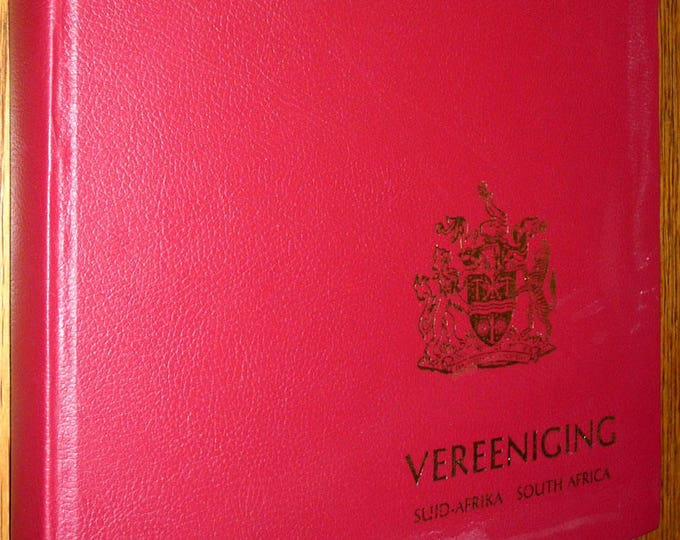 Vereeniging South Africa 1892-1967 by Ramon Lewis Leigh - 1st Edition Hardcover HC - History Geography