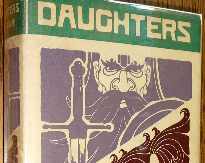 Daughters: the Story of Two Generations by Gabriele Reuter 1930 1st Edition Hardcover HC w/ Dust Jacket DJ - Macmillan - Fiction Novel